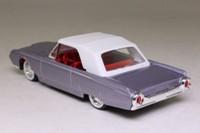 Solido 4505; 1961 Ford Thunderbird; Closed Cabriolet; Purple Metallic, White