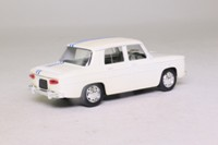 Solido 1831; 1963 Renault 8; Gordini, White, Twin Blue Stripe
