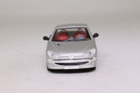 Solido 1558; 2000 Peugeot 206 Cabriolet; Silver, Closed Roof