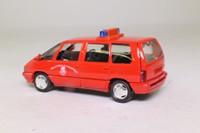 Solido 1534; 1991 Renault Espace; Pompiers, Peloton Cynophile - Dog Squad