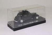 Solido 4526; Citroen 15CV Traction Avant; 1952 Monte Carlo Rally; RN350