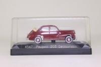 Solido 4597; Peugeot 203 Cabriolet; Open Top, Beige