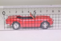 Solido 4539; 1963 Triumph Spitfire Sports; Open Top, Red