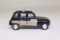 Solido 4545; 1961 Renault 4L; Black, Wicker Side Panels