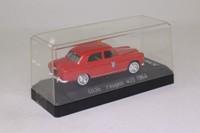 Solido 4836; 1964 Peugeot 403; Pompiers, Fire Service