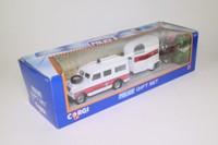 Corgi Classics 92450; Land-Rover Series 3 Station Wagon; & Horse Box, Police with Mounted Policeman