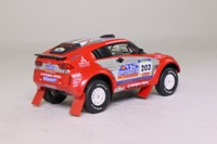 Solido 150283-00; 2004 Mitsubishi Pajero Evo; 2004 Dakar Rally 1st; Peterhansel & Cottret; RN203