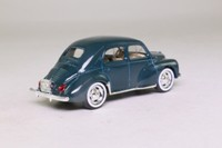 Solido 4537; 1954 Renault 4CV; Dark Teal