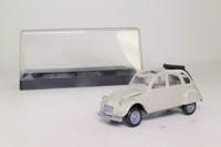 Solido 1819; 1979 Citroen 2CV6; Open Roof, Grey