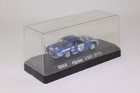 Solido 1804; Alpine A110; 1973 Monte Carlo Rally; RN18