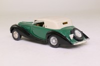 Solido 1148; 1939 Delahaye 135M Figoni-Falaschi; Soft Top, Green & Black