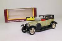 Solido 140; 1925 Panhard-Levassor 6/65; Sedanca, Metallic Green/Black
