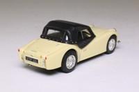 Corgi Classics D738/1; Triumph TR3a; Soft Top, Pale Yellow