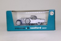 Brumm R8; 1922 Sanford Cyclecar; Soft Top, Silver