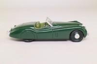 Corgi Classics 96041; Jaguar XK120 (1:43); Open Top, Racing Green, Green Seats