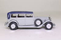 Models of Yesteryear Y-40/1; 1931 Mercedes-Benz 770; Grey body, blue roof
