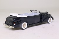 Rextoys 12; 1938 Cadillac V16 Torpedo; Open Top, Black