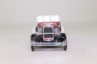 National Motor Museum Mint SS-T5430; 1931 Ford Model A Coupe; Open Top, Maroon, Black