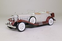 National Motor Museum Mint 10103; 1932 Cadillac V16 Sport Phaeton; Light Grey & Maroon
