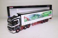 Corgi Classics CC12924; Scania Topline; Curtainside Trailer, Westfield Transport, The Eden Project