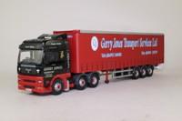 Corgi Classics CC13412; MAN TGA XXL; Artic Curtainside, Gerry Jones Transport