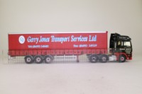 Corgi Classics CC13412; MAN TGA XXL; Artic Curtainside, Gerry Jones Transport