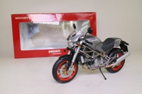 Minichamps 122 120121; Ducati Monster Motorcycle; Metallic Grey