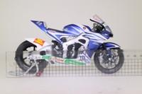 Minichamps 122 071033; Honda RC212V Motorcycle; 2007 Moto GP; Team Honda Gresini; Marco Melandri; RN33