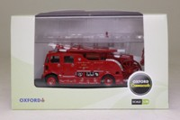 Oxford Diecast 76REG001; 1951 AEC Regent III Merryweather Fire Engine; London Fire Brigade