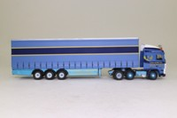 Oxford Diecast DAF13CS; DAF 105 Artic; Curtainside, AF Davison
