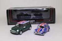 Oxford Diecast 69059; Mini Cooper Gift Set; Old & New Mini Coopers