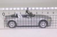 Cararama 00064; BMW Z4 Sports; Open Top, Silver