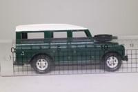 Corgi Classics 57905; Land-Rover Series 3 Station Wagon; Green, White Roof
