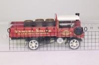 Models of Yesteryear Y-32/1; 1917 Yorkshire Steam Wagon; Samuel Smith, Barrels Load