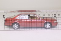 Minichamps 430 013005; 1999 Audi A8 Sedan; Isis Red