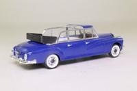 Rio 122; 1960 Mercedes-Benz 300D (W189) Limousine; Open Cabriolet, Blue