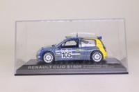 DeAgostini Renault Clio S1600; 2003 Acropilis Rally; S Jean Joseph & J Boyere