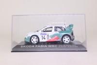 DeAgostini Skoda Fabia WRC; 2003 Tour de Corse; D Auriol & D Giraudet