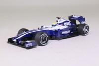 Minichamps 400 090016; Williams-Toyota FW31 Formula 1; 2009 British GP 5th; Nico Rosberg; RN16