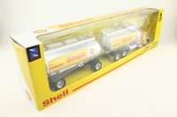 Newray 10317; Peterbilt Model 379; Petrol Tanker & Trailer, Shell