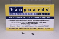 Vanguards VA10811; Ford Capri Mk III; 3.0S; Signal Amber