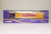 Corgi Superhaulers 59501; ERF EC 1:64 Scale; Artic Curtainside; Cadbury's Crunchie