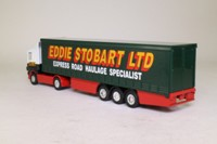 Corgi Superhaulers 59503; Scania R Cab, 1:64 Scale; Artic Curtainside, Eddie Stobart
