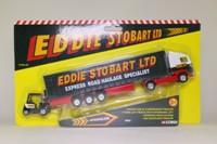 Corgi Classics TY99149; Volvo FH 1:64 Scale; Artic Curtainside & Forklift, Eddie Stobart Ltd; Express Road Haulage Specialist