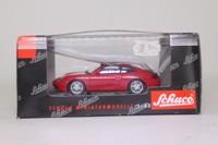 Schuco 04341; 1997 Porsche 911 (996); Red