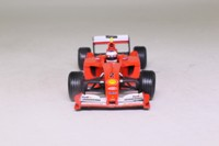 Hot Wheels 50214; Ferrari F2001 Formula 1; 2001 Monaco GP 2nd; Rubens Barrichello; RN2