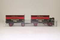 Corgi Classics 97892; AEC Ergomatic Cab; 4 Wheel Box Van & Trailer; S Houseman, Melbourne, York