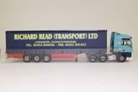 Corgi Classics CC13408; ERF ECT High Entry Sleeper; Curtainside: Richard Read Transport Ltd