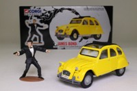 Corgi Classics 65301; James Bond's Citroën 2CV; For Your Eyes Only; With James Bond Figure