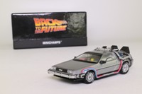 Minichamps 436 140070; DeLorean DMC12; Back to the Future